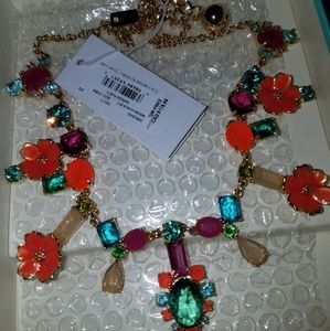 BNWT Kate Spade Garden Party Statement Necklace